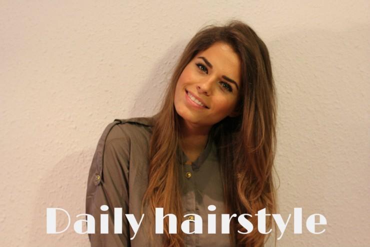 Hair tutorial : Daily hairstyle
