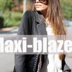Maxi-blazer
