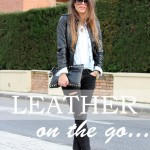 Leather on the go…