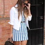 Denim – Striped – Dress