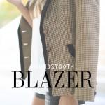 houndstooth blazer