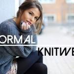 informal knitwear
