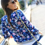 flowers in a bomber