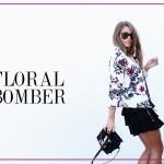 floral bomber