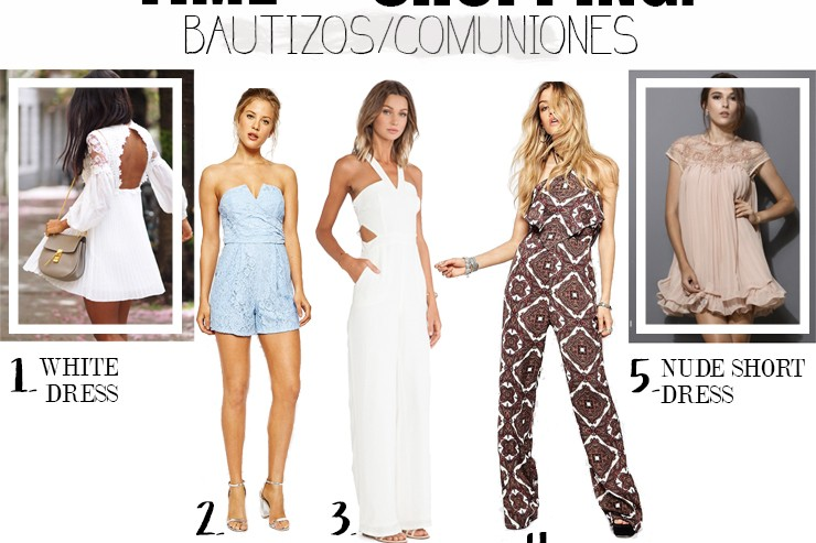 Time for Shopping: Bautizos y Comuniones