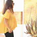 a summer shade: mustard