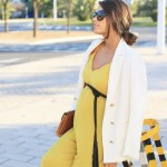 mustard long jumpsuit