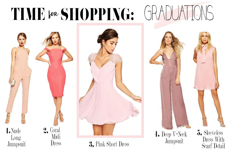 Time for Shopping: Graduations