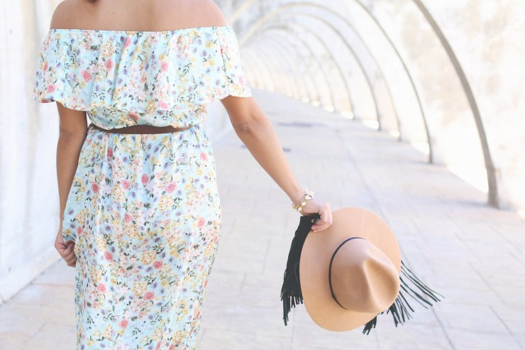 folk long dress