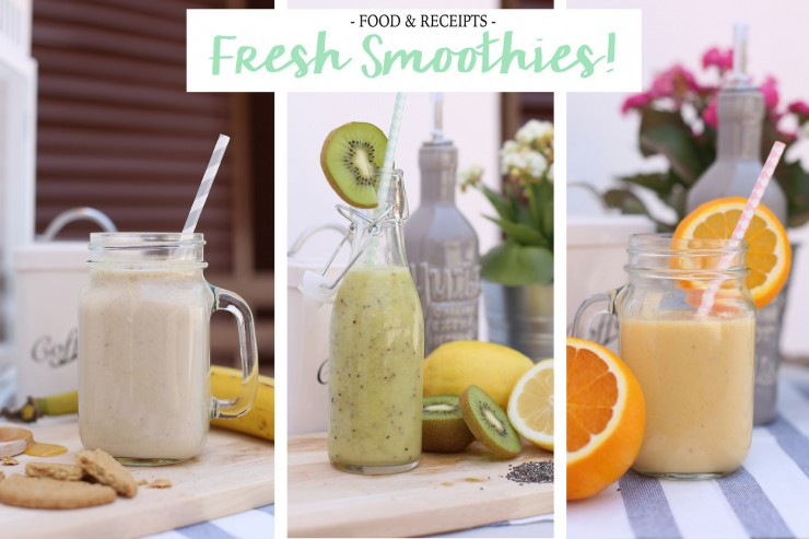 Fresh smoothies!