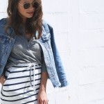sporty|striped|skirt