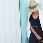 L.A. days #3: navy dress