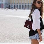 Lisboa #4: Black lace top + Blouse