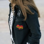 New trends: embroidery and patches