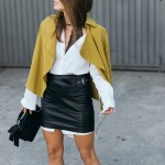 Long shirt & Mini skirt