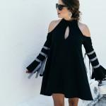 Black lady-like outfit
