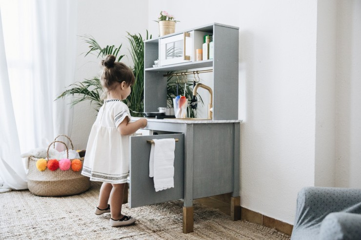 Dream DUKTIG kitchen | #IkeaHack