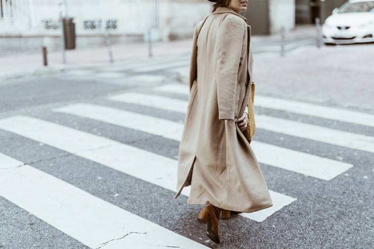 Layered in browns in Madrid