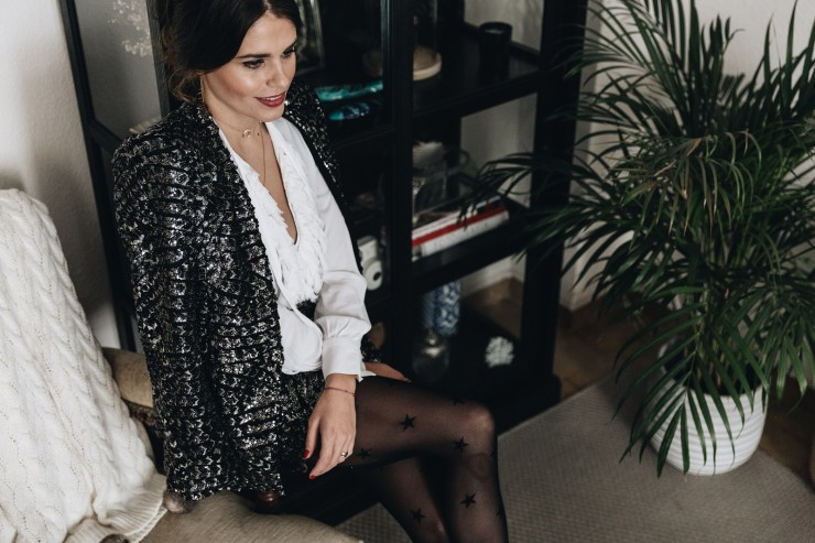 seams for a desire jessie chanes sequined suit NYE outfit end of 2017